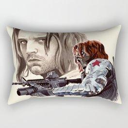 Winter Soldier Rectangular Pillow