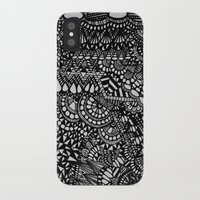 zentangle iPhone & iPod Cases featuring Zentangle by Maria Gracia