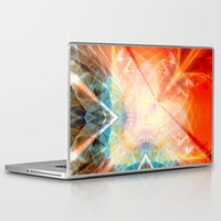 angel Laptop & iPad Skins featuring Angel by Christine baessler