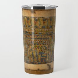 Ancient Egyptian Funerary Scroll pre 944 BC Travel Mug
