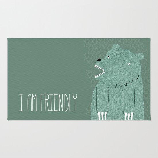 Friendly Bear Rug