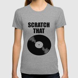 scratch that music logo T-shirt
