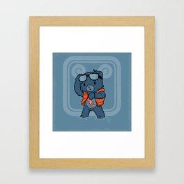 Marty McBear Framed Art Print