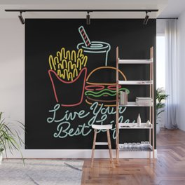 Live Your Best Life Wall Mural
