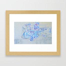 Windshield Wipers Framed Art Print