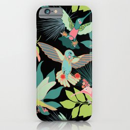 Hummingbird Paradise iPhone Case