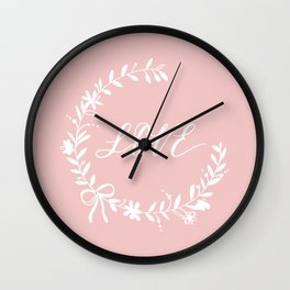 Love for Lovers Wall Clock