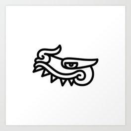Cipactli Art Print