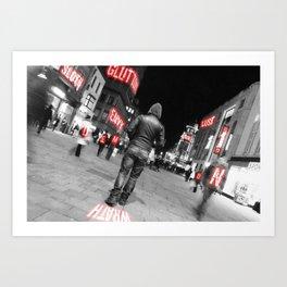 Limbo- Demons Art Print