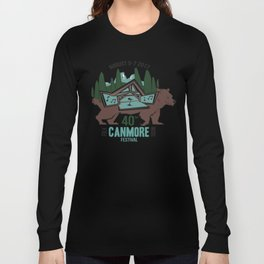 Canmore Folk Festival 40th Anniversary Long Sleeve T-shirt