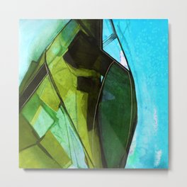 Abstraction 317G by Kathy Morton Stanion Metal Print