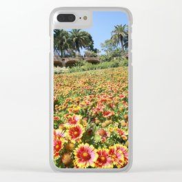 Flowerland in Spain Clear iPhone Case