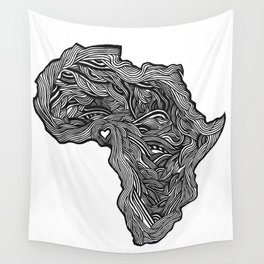 ROOTED (NIGERIA) Wall Tapestry