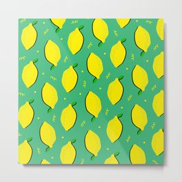 Lemon Squeezy 01 Metal Print