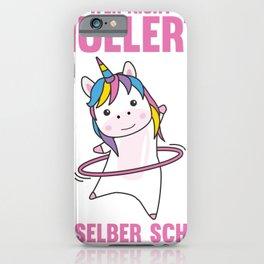 Unicorns Hullern Unicorn Funny Dancing Huller iPhone Case