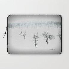 Bare bones in Winter Laptop Sleeve