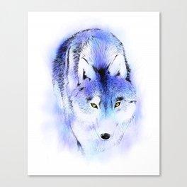 Stalking Wolf Canvas Print