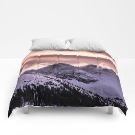 Cloudy peaks Comforters