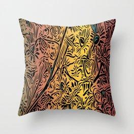 New Strawflower Boogie Throw Pillow