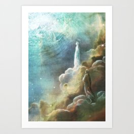 Glimpse of Heaven Art Print