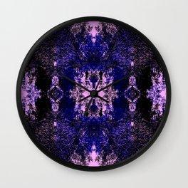 Yorimasa - Abstract Multicolor Rorschach Butterfly Wall Clock