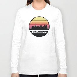 Orlando Skyline Long Sleeve T-shirt