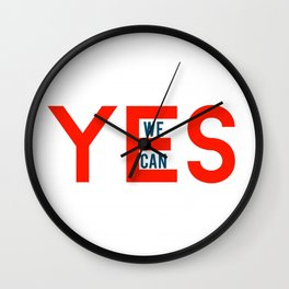 Yes we can Wall Clock