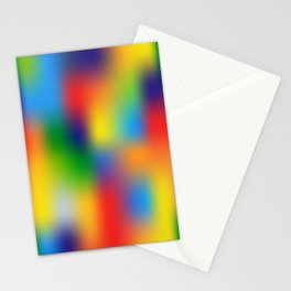 Abstract Colorful illustration Stationery Cards