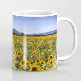 Sunflower Summer Field Coffee Mug