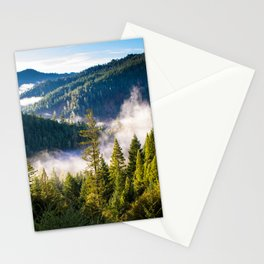 Smoke on the Mountains Stationery Cards