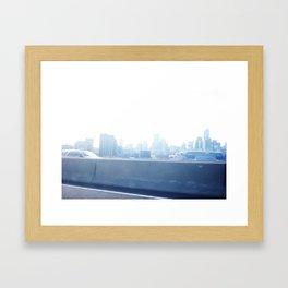 Blue Metropolis  Framed Art Print