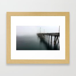 Venice Beach Pier Framed Art Print