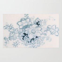 Vintage Flower Flow Rug