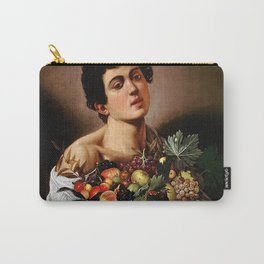 BOY WITH A BASKET OF FRUIT - CARAVAGGIO Carry-All Pouch