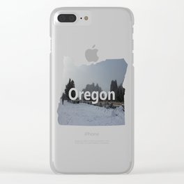 The Blowing Cold Clear iPhone Case