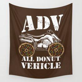 ADV All Donut Vehicle - Donut Quad Bike Wall Tapestry