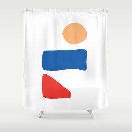 Minima #7 Shower Curtain