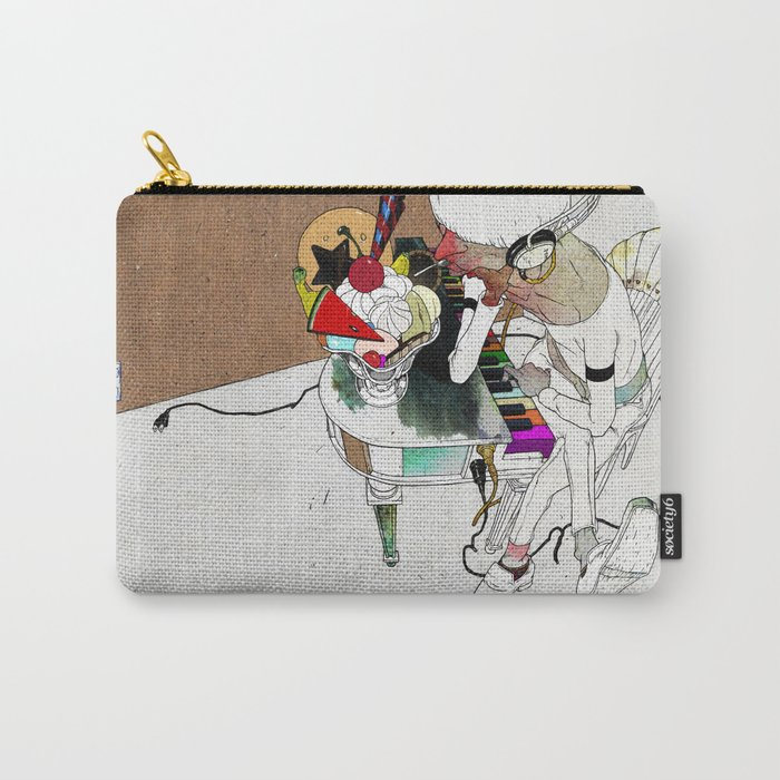 LOVE SONG OR SAD THING Carry-All Pouch