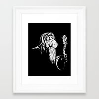 gandalf Framed Art Prints featuring GandALF by sergio37