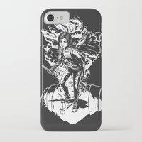 uncharted iPhone & iPod Cases featuring Ellie Last Of Us white by wady_yeti