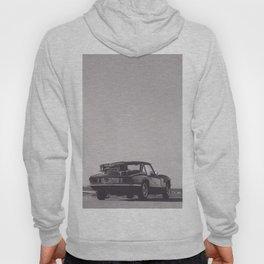 Supercar details, british triumph spitfire, black & white, high quality fine art print, classic car Hoody