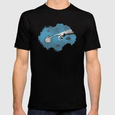 On the 101110010th Day... SMALL Mens Fitted Tee Black