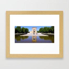 Temple de Debod Framed Art Print