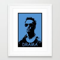 entourage Framed Art Prints featuring Entourage - Johnny Drama by StriveArt