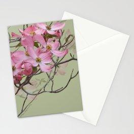 PINK FLOWERING DOGWOOD Stationery Cards