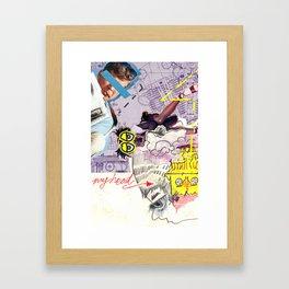 JFK Fugee Framed Art Print