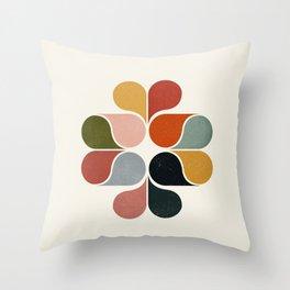 Abstract modern art Throw Pillow