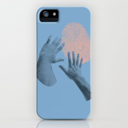 searching for identity iPhone Case