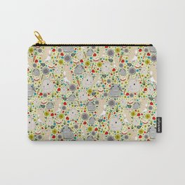 Cute Rabbit Pattern Carry-All Pouch