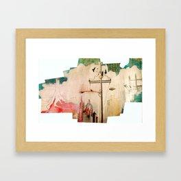 EVOLUTION CITY Framed Art Print